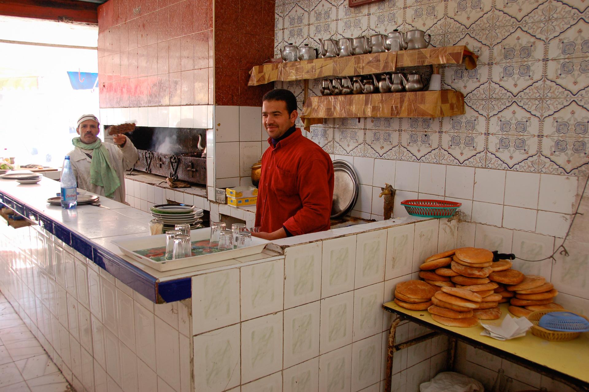 Marokkolainen ravintola avokeittiö